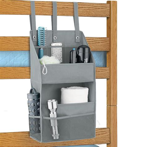 bunk bed organizer grey bunk bed organizer the container store