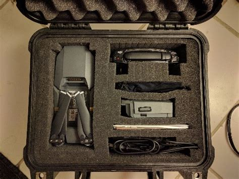 Pelican Case With Kaizen Foam Dji Forum Mavic Pro Foam Template