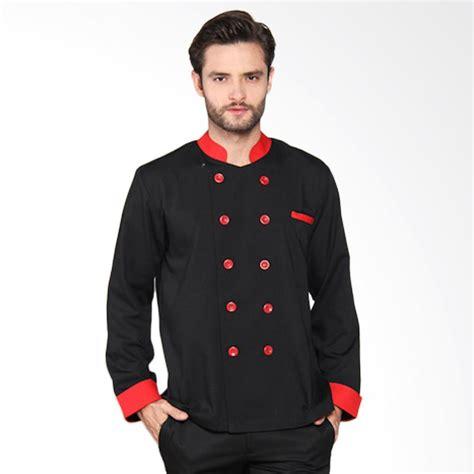 desain baju chef jual chef series silver series tangan panjang baju koki