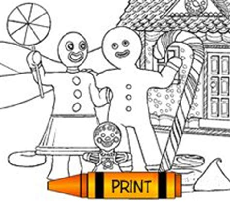 coloring pages gingerbread family gingerbread family coloring page cool coloring pages