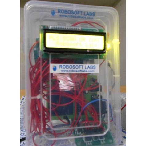 rfid based security system dc motor project kit