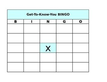 get to you bingo card template getting to you cards pictures to pin on