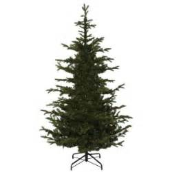 hypoallergenic christmas tree martha stewart living 7 5 ft indoor spruce hinged artificial tree
