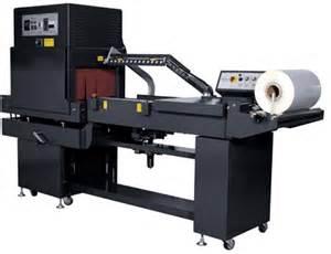 automatic l bar sealer shrinking machine combination
