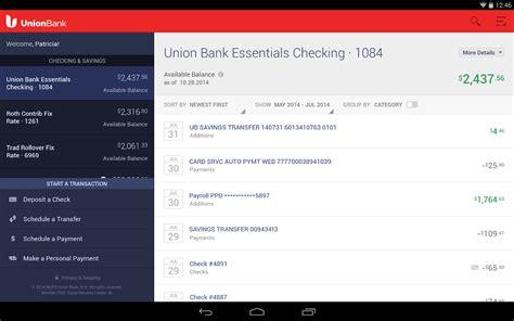 Union Bank Mobile Banking Aplicaciones De Android En