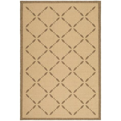 Martha Stewart Indoor Outdoor Rugs Safavieh Martha Stewart Brown 8 Ft X 11 Ft 2 In Indoor Outdoor Area Rug Msr4252 12 8