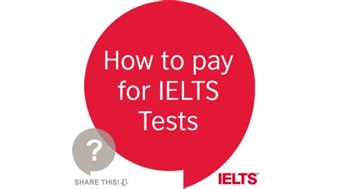 council test how to pay for ielts tests general or academic