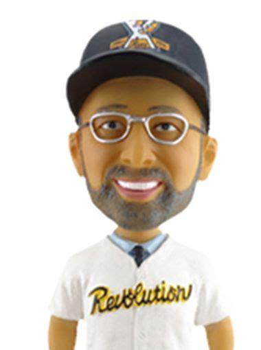 Bobblehead Giveaways - minor league baseball team unveils unique bobblehead