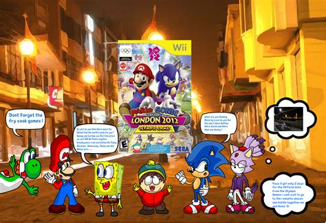 sonic fan made games sponge and eric made a remake of mario sonic 2012 by