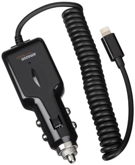 Amazonbasics Charger amazonbasics lightning car charger for iphone and ipod 2 1