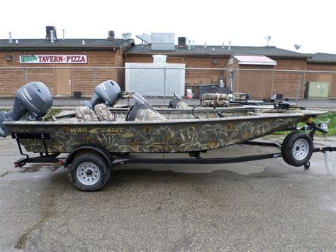 war eagle boats in michigan war eagle 761 blackhawk boats for sale in michigan