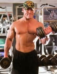 1 Arm Dumbbell Bench Press John Cena Workouts And Diet Secrets Muscle World