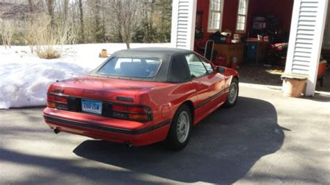 auto body repair training 1988 mazda rx 7 navigation system sell used 1988 mazda rx7 convertible in andover connecticut united states