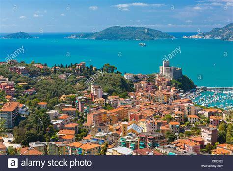 of la spezia lerici castle and the gulf of la spezia province of la