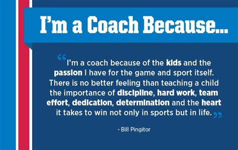 I M The Coach not only a coach but a mentor q a with bill pingitor
