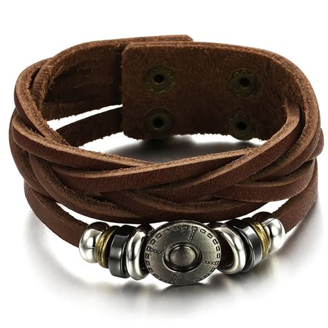 awesome designs of leather bracelets trendyoutlook