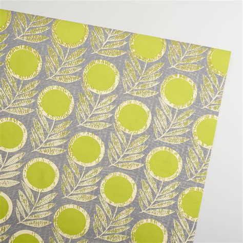 Handmade Wrapping Paper - green letta handmade wrapping paper rolls set of 2 world