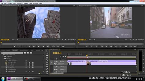 Adobe Premiere Pro Cs6 For Beginners 09 Transitions Youtube Adobe Premiere Pro Cs6 Templates