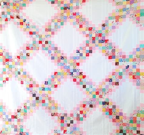 MessyJesse   a quilt blog by Jessie Fincham: Scrappy Irish Chain Quilt Pattern
