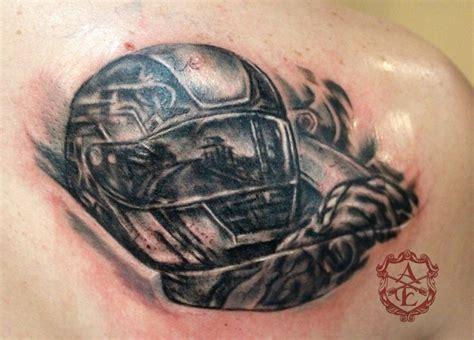 Helm Ink Road Race inspiration worlds best tattoos car piston