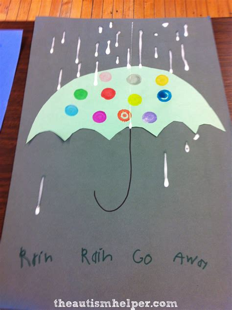 rainy day crafts activities for rainy day craft with a motor twist the autism helper