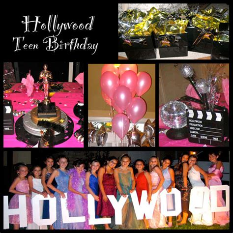 themes for teenage girl parties restaurant reservation hollywood theme party ideas