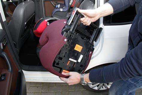 Kindersitz Auto Montage by So Geht Das Mit Dem Isofix Bilder Autobild De