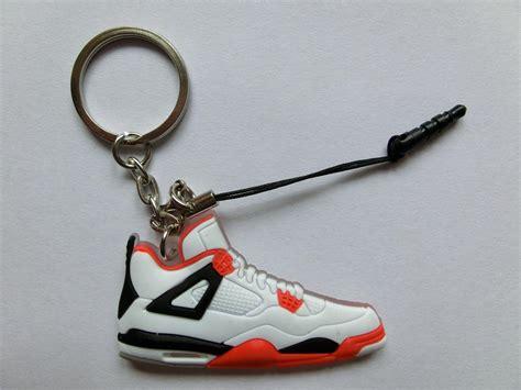 sneaker key chains new air iv aj4 retro sneaker keychain ebay