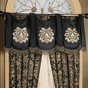 Swag Valance Curtains Imperial Damask Swag Valance And Curtains