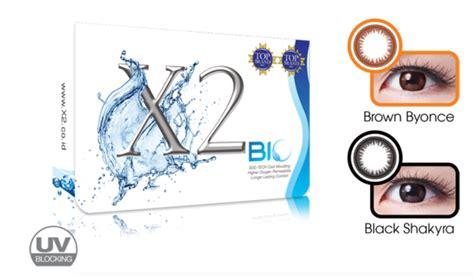 X2 Bio Four Fusiin Green Manggo review x2 softlens bio and bio four series