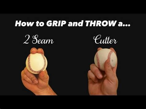 baseball pitching how to throw a two seam 3 pitching grips how to throw the sinker slider and