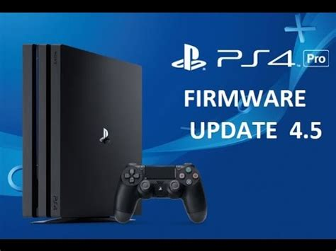 www test it playstation 4 pro firmware update 4 5 sign up to beta