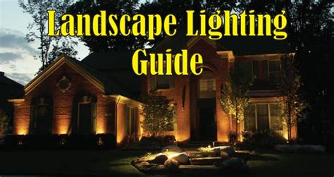 landscape lighting guide low voltage landscape lighting installation guide sc