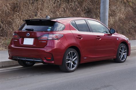 lexus ct200h rear file lexus ct200h fsport 2014 rear png wikimedia