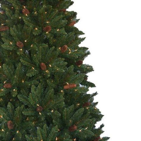 regency christmas trees jackson fir home accents 6 5 ft pre lit jackson spruce artificial tree with clear lights