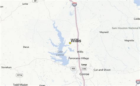 where is willis on a map willis weather station record historical weather for