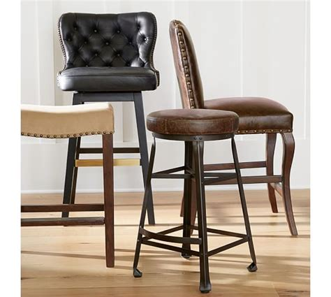 Bar Stool Pottery Barn by Manchester Backless Barstool Pottery Barn