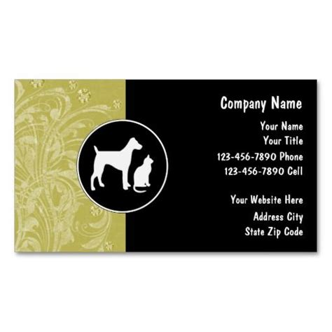 Pet Sitter Business Cards Templates by 17 Best Images About Business Cards Pet Sitter On