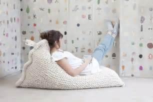 Knitted Bean Bag Chair » Home Design