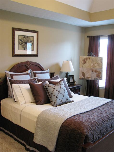 blue  brown bedroom decorating ideas decorating ideas