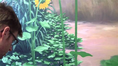 paint foliage mural joe youtube