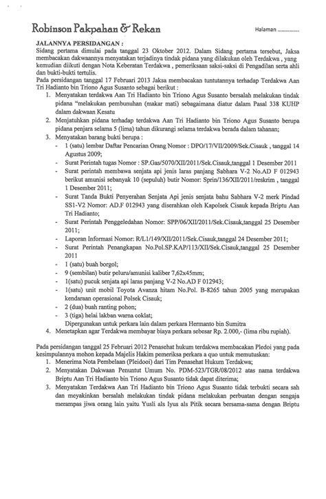 Resume Tentang Hukum Acara Perdata by Contoh Berita Hukum Pidana Contoh Z