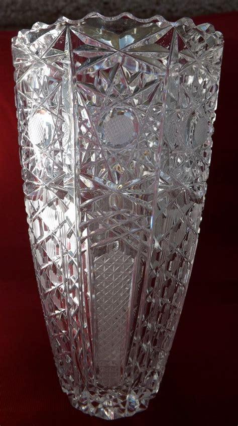 Antique Cut Glass Vase 481 Best Images About Antique Cut Etched Crystal Glass