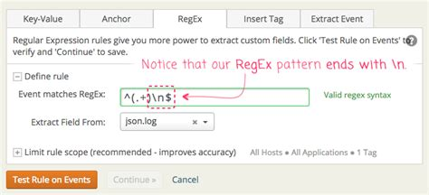 delete pattern matching line vim loggly derived field regex matching may require a newline