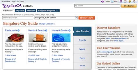 Yahoo Search India Yahoo India Shuts Local Search Portal Medianama