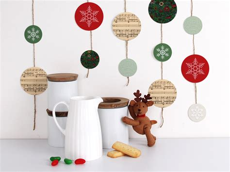 printable christmas tree garland free christmas printables tinyme blog