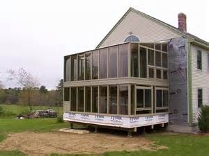 Pictures Of Sunroom Additions Two Story Sunroom Of New England Brady Built Sunrooms