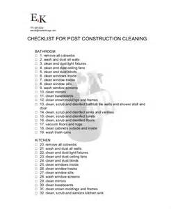 cleaning checklist 20 free word pdf psd documents