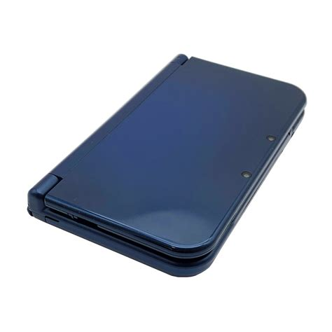 nintendo 3ds xl console sale new nintendo 3ds xl metallic blue console pre owned