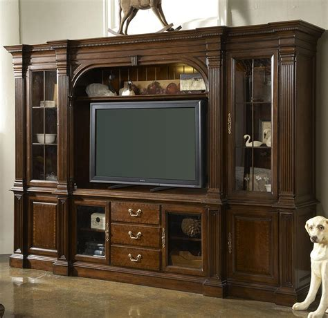 wall units salisbury six piece home entertainment wall unit by fine